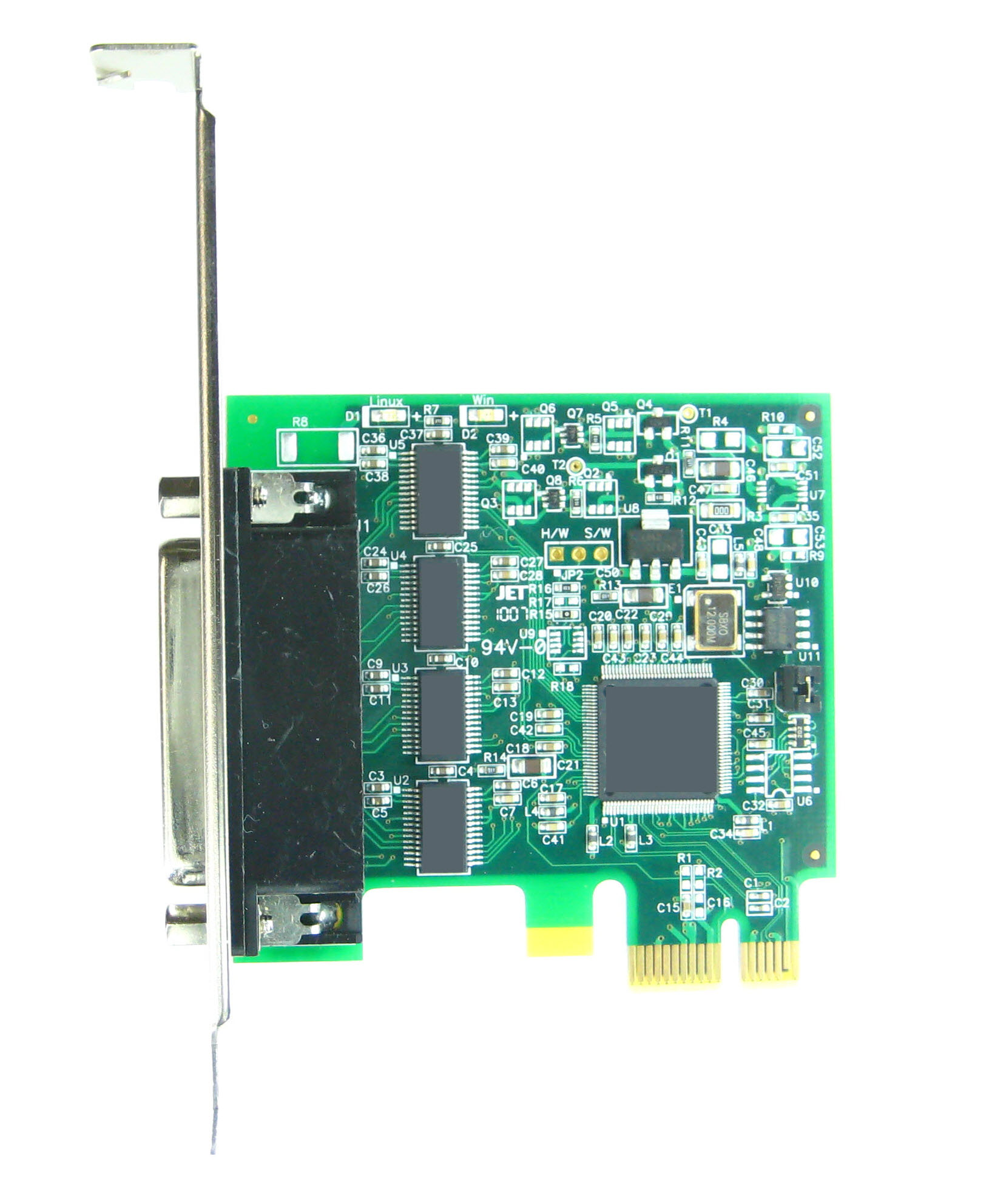Click for large picture of the PCI Express (PCIe) LF757KB adapter