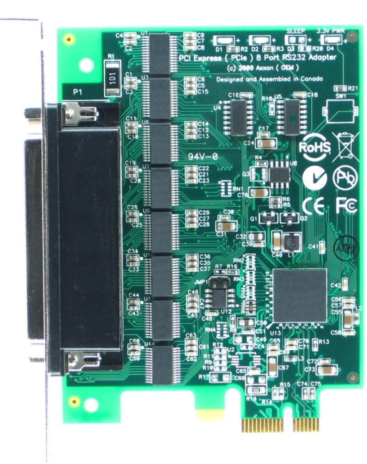 Click for large picture of the PCI Express (PCIe) LF781KB adapter