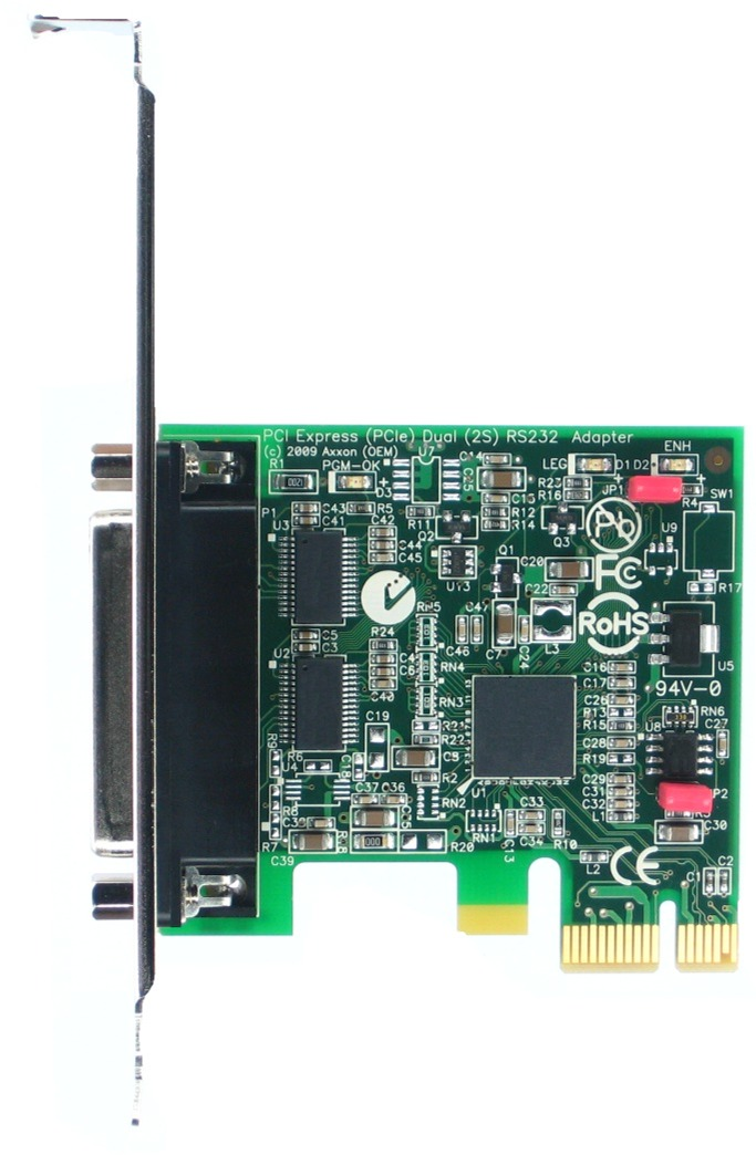 Click for large picture of the PCI Express (PCIe) LF808KB adapter