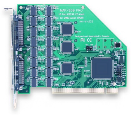Click for 16 Port RS232 PCI Bus high resolution product picture