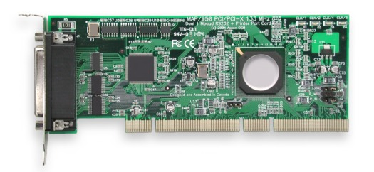 Click for PCI-X Serial & Parallel Port high resolution product picture