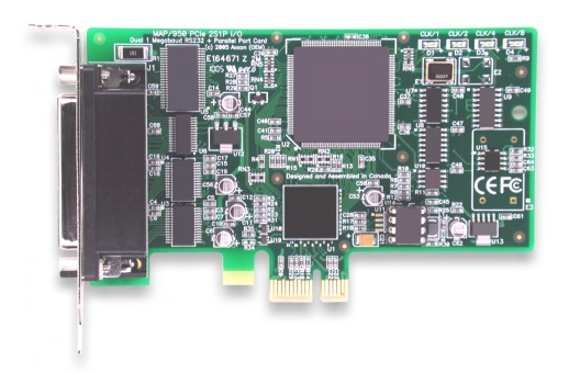 Click to view the industry's FIRST PCIe Multiport 2S1P Card
